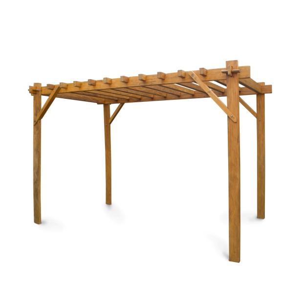 gazebo pergolado madeira demoli o 2 20x2 40x1 80 alp dispon vel em 2 larguras arte e brilho. Black Bedroom Furniture Sets. Home Design Ideas